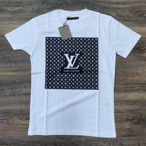 Louis Vuitton Front Monogram White T-Shirt